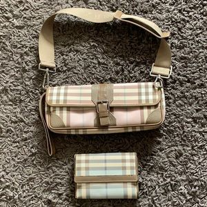 Handbags - BURBERRY Shoulder/Clutch Bag & Wallet- Authentic